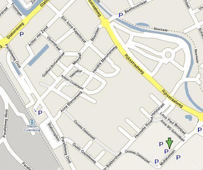 Parkeerplaatsen in de omgeving van Lek en Linge