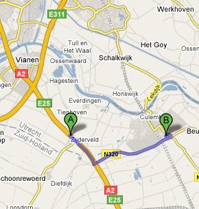 route A2 - Culemborg