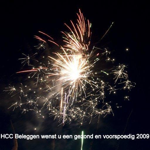 HCC Beleggen wenst u een gezond en voorspoedig 2009 toe