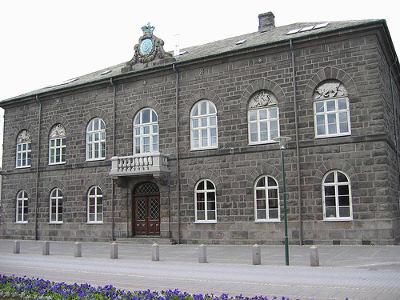 De Althingi, het IJslandse parlement